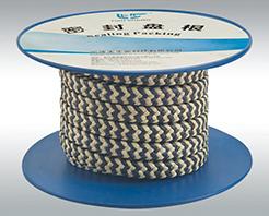 -TS 600芳纶和石墨聚四氟乙烯交织盘根-